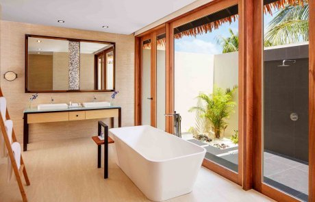 Beach Villa with Private Pool2 Raddison 玩轉馬爾地夫