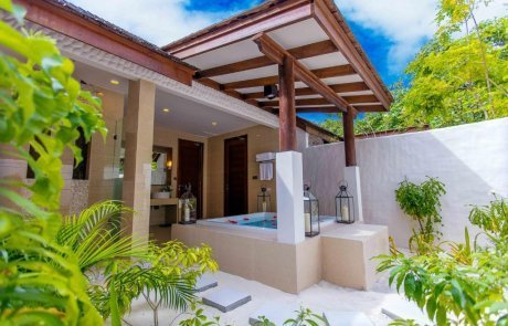 Deluxe Sunset  Beach Villa With Pool2 Hideway 玩轉馬爾地夫
