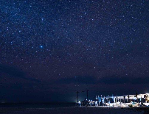 夜宿無人島