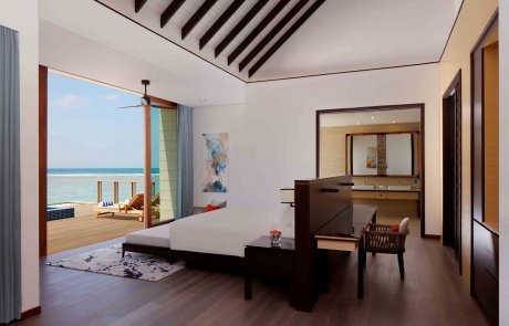Overwater Villa with Private Pool1 Raddison 玩轉馬爾地夫