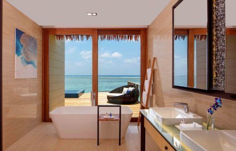Overwater Villa with Private Pool2 Raddison 玩轉馬爾地夫