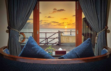 Sunset Jacuzzi Water Villa3 Olhuveli 玩轉馬爾地夫