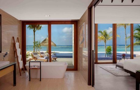 Two Bedroom Beach Suite Villa with Private Pool1 Raddison 玩轉馬爾地夫
