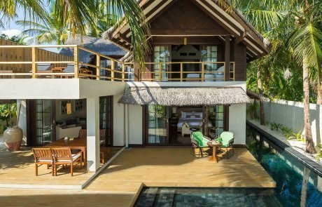 Two Bedroom Beach Suite with Pool1 Jumeirah Vittaveli 玩轉馬爾地夫