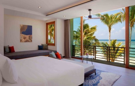 Two Bedroom Family Beach Villa with Private Pool1 Raddison 玩轉馬爾地夫