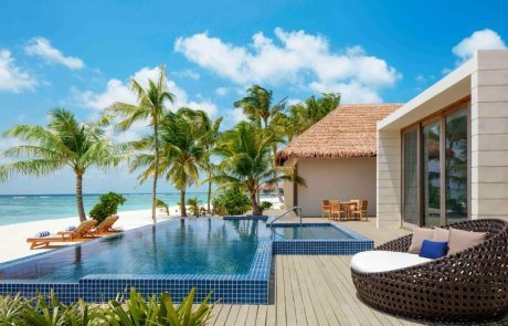 Two Bedroom Family Beach Villa with Private Pool2 Raddison 玩轉馬爾地夫