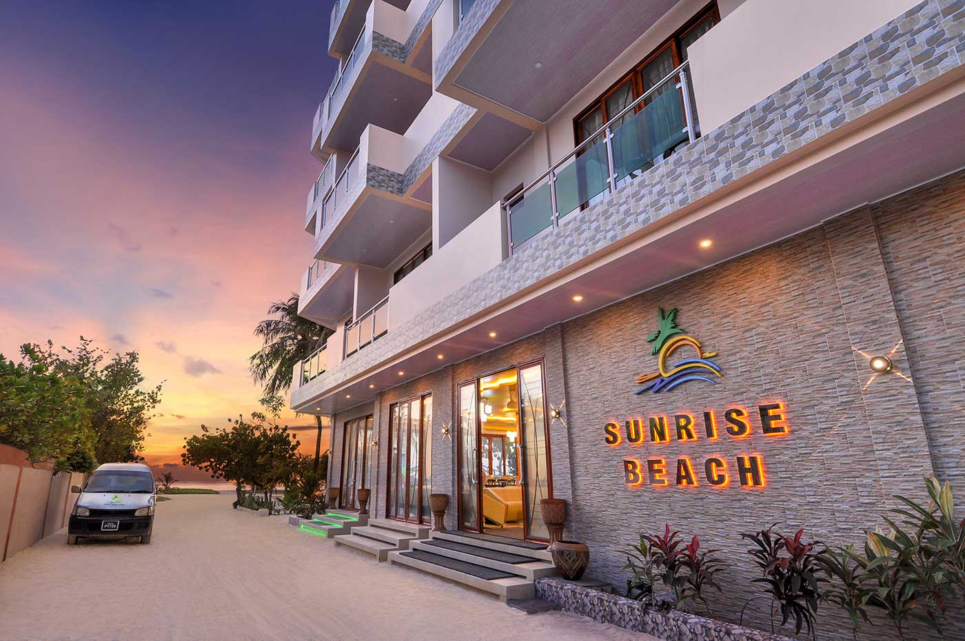 sunrise beach hotel Maafushi 玩轉馬爾地夫17