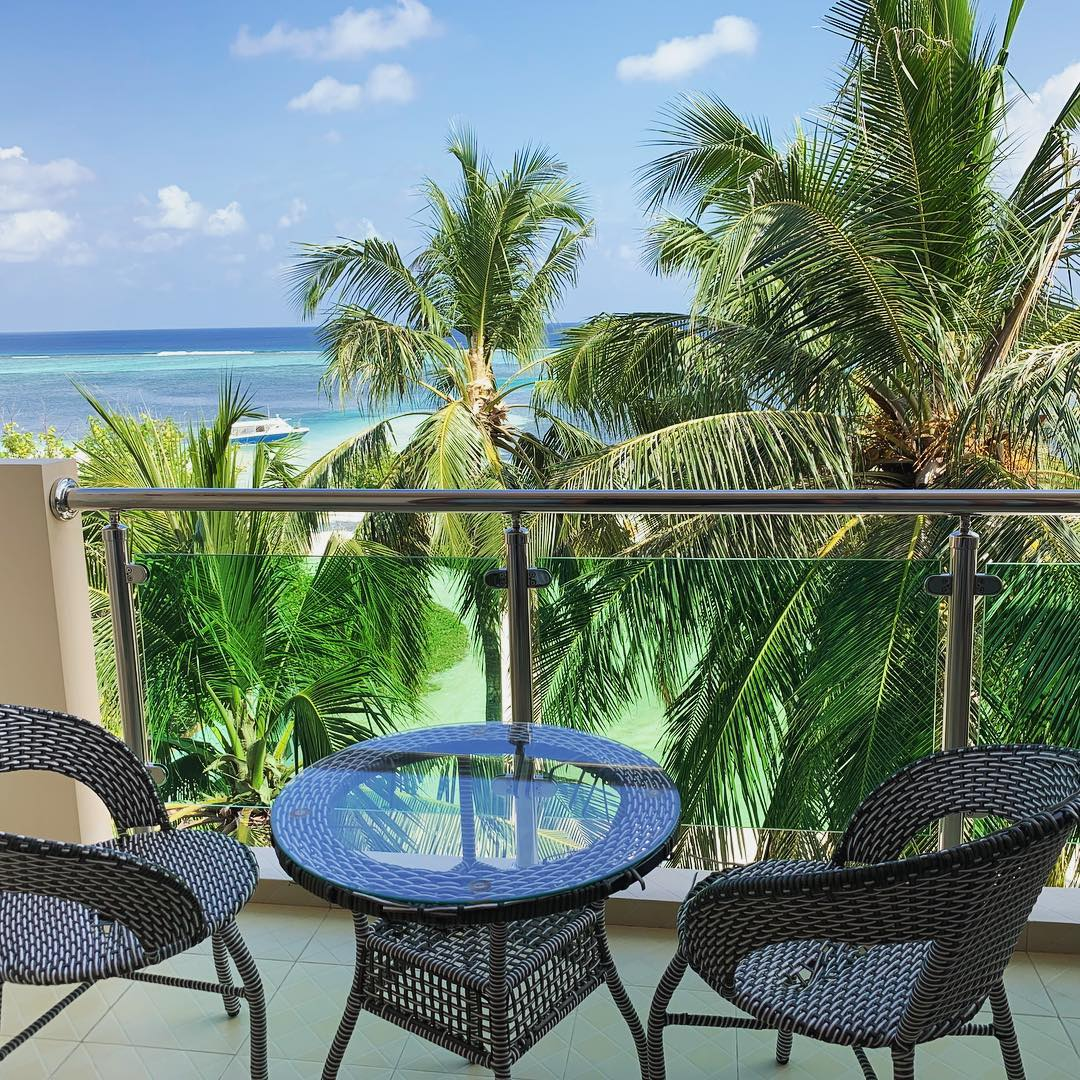 sunrise beach hotel Maafushi 玩轉馬爾地夫21